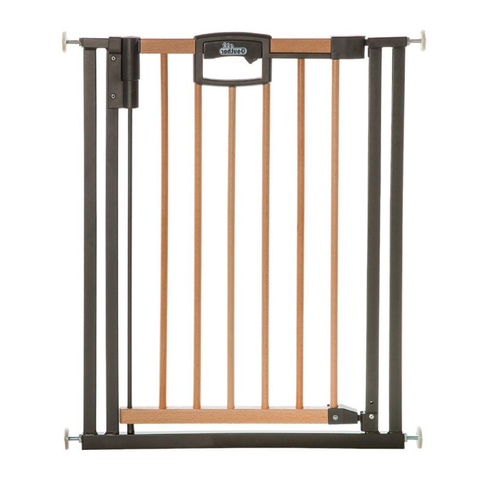 Barrière de sécurité Easylock Wood plus BEIGE Geuther