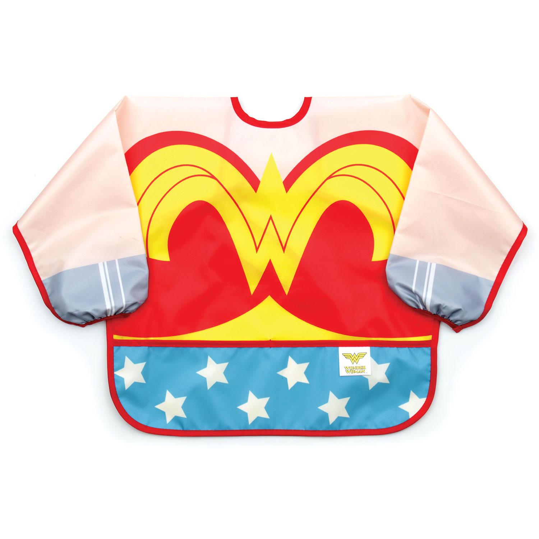 Bavoir-tablier déguisement Wonder Woman MULTICOLORE BB&Co