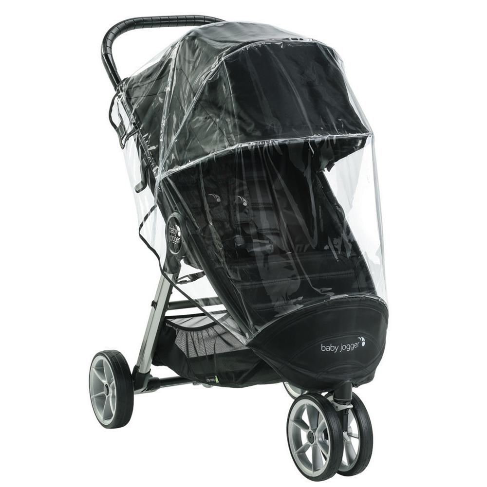 Habillage Pluie City Mini 2/Mini GT 2 NOIR Baby Jogger