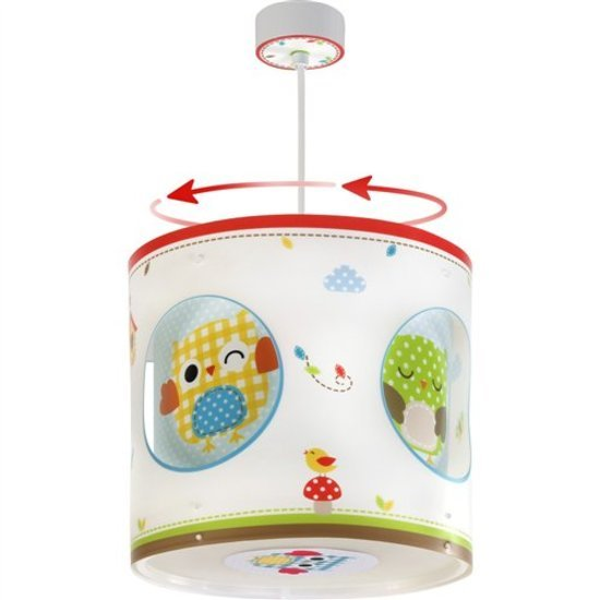 Suspension rotative hibou