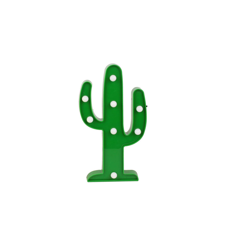 Lampe Led Cactus VERT Hello Kids