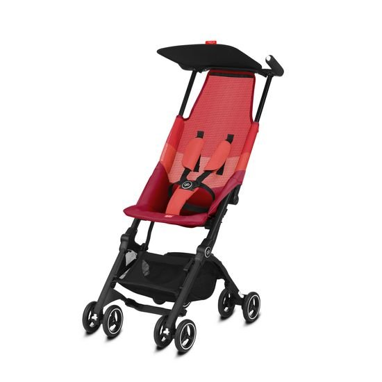 GB Poussette POCKIT AIR TOUT TERRAIN Rose Red