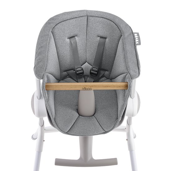 Béaba Assise chaise haute Up & Down Grey