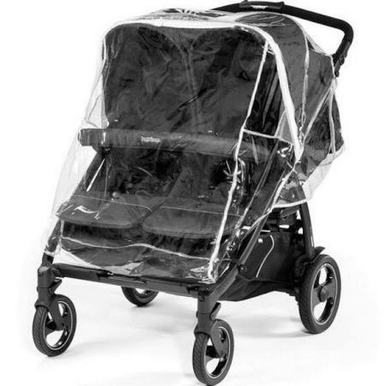 Peg Perego Habillage pluie Book for two Transparent