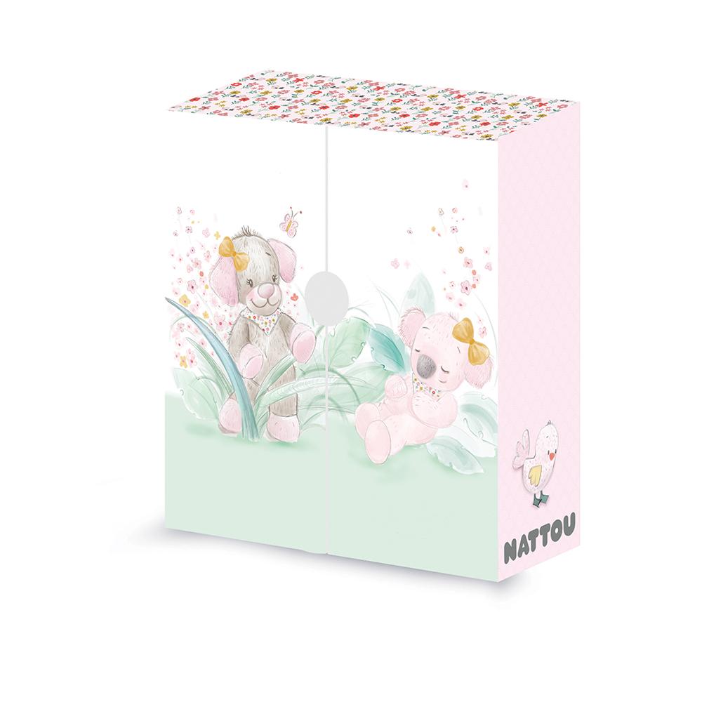 IRIS & LALI Boîte à trésors ROSE Nattou