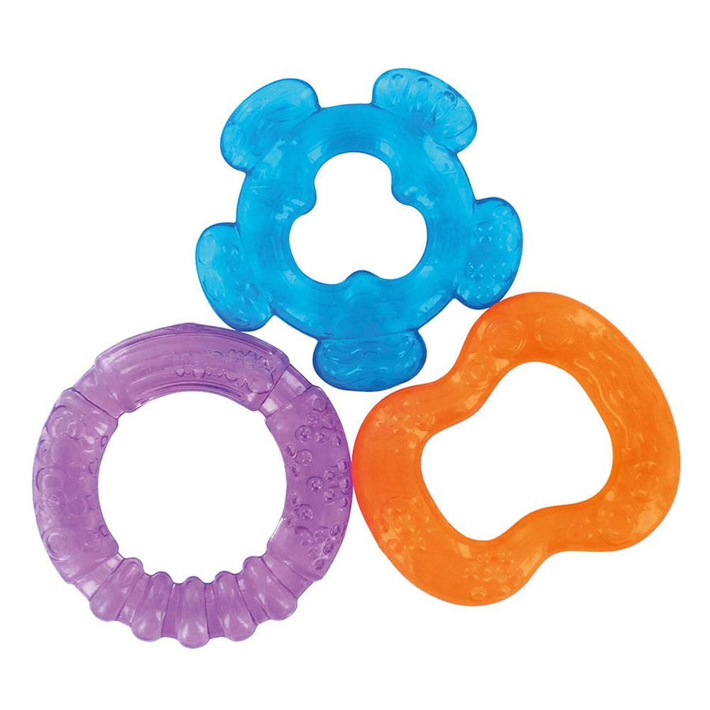 3 anneaux de dentition MULTICOLORE dBb Remond