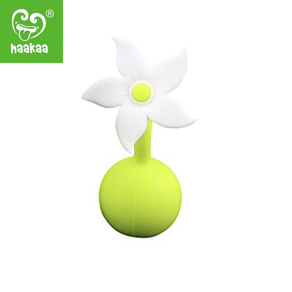Bouchon Haakaa Silicone Petite Fleur BLANC Haakaa