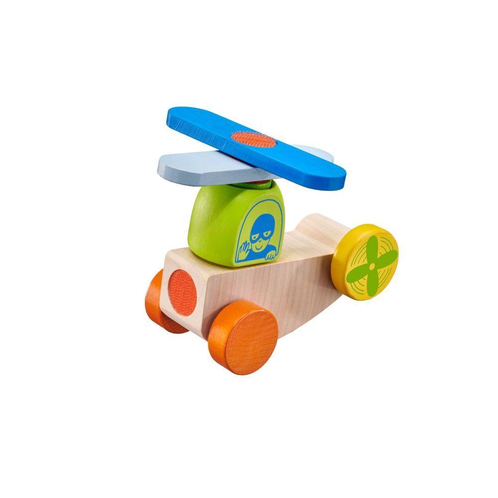 KLETTINI® avion, véhicule à bande velcro, jouet à empiler MULTICOLORE Selecta