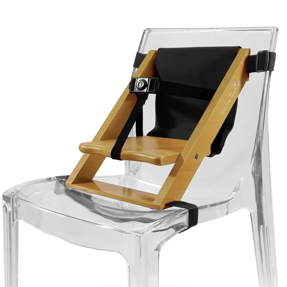 Rehausseur pour chaise NOIR Welcome Family