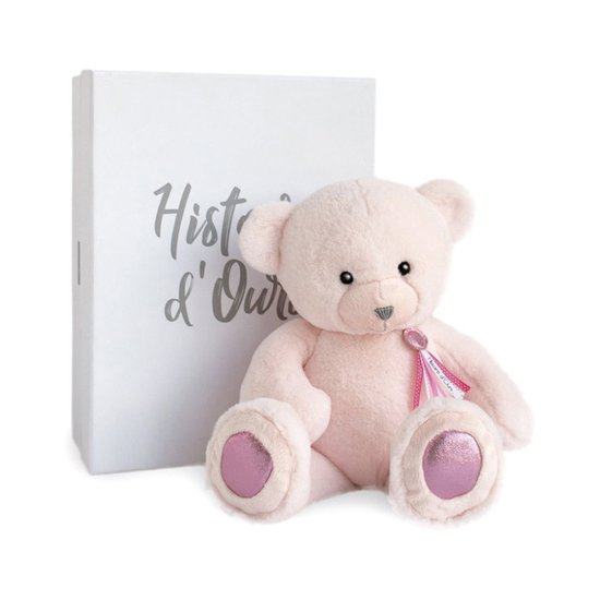 Histoire d'Ours Ours Charms Rose MM