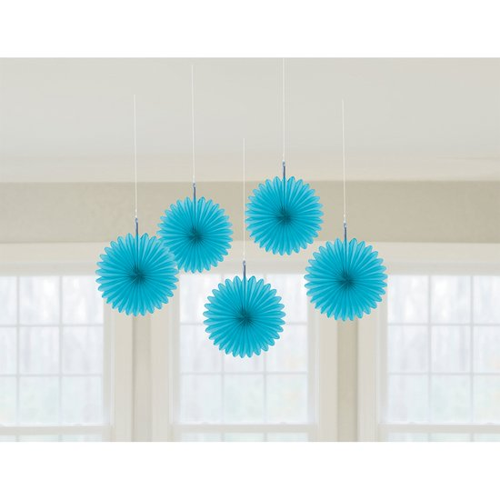 HANGING FAN DEC BLUE
