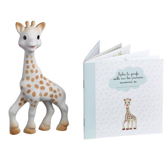 Sophie la girafe + livret mes souvenirs
